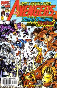 Cover Thumbnail for Avengers (Marvel, 1998 series) #9 [Direct Edition]