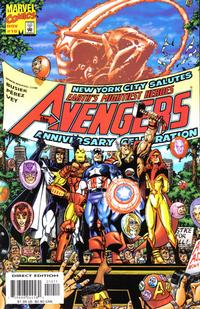 Cover Thumbnail for Avengers (Marvel, 1998 series) #10 [Direct Edition]