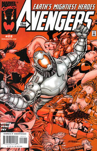 Cover Thumbnail for Avengers (Marvel, 1998 series) #22 [Direct Edition]