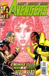 Cover Thumbnail for Avengers (Marvel, 1998 series) #23 [Direct Edition]
