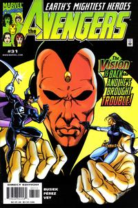 Cover Thumbnail for Avengers (Marvel, 1998 series) #31 [Direct Edition]