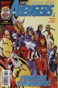 Cover Thumbnail for Avengers (Marvel, 1998 series) #38 [Direct Edition]