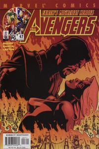 Cover Thumbnail for Avengers (Marvel, 1998 series) #47 (462) [Direct Edition]