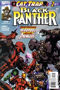 Cover Thumbnail for Black Panther (Marvel, 1998 series) #23