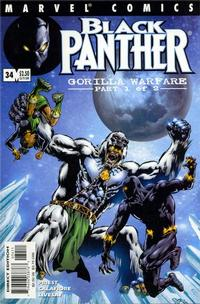Cover Thumbnail for Black Panther (Marvel, 1998 series) #34