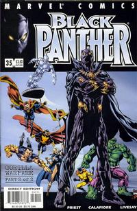 Cover Thumbnail for Black Panther (Marvel, 1998 series) #35