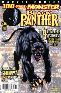 Cover Thumbnail for Black Panther (Marvel, 1998 series) #36