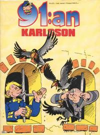 Cover Thumbnail for 91:an Karlsson [julalbum] (Semic, 1981 series) #[1987]