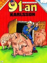 Cover Thumbnail for 91:an Karlsson [julalbum] (Semic, 1981 series) #[1988]