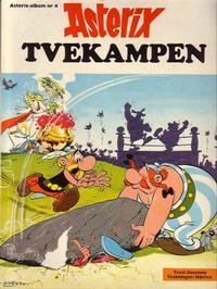 Cover Thumbnail for Asterix (Hemmets Journal, 1970 series) #4 - Tvekampen