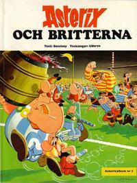 Cover Thumbnail for Asterix (Hemmets Journal, 1970 series) #5 - Asterix och britterna
