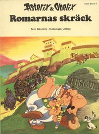 Cover Thumbnail for Asterix (Hemmets Journal, 1970 series) #7 - Romarnas skräck