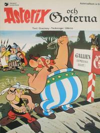 Cover Thumbnail for Asterix (Hemmets Journal, 1970 series) #9 - Asterix och goterna