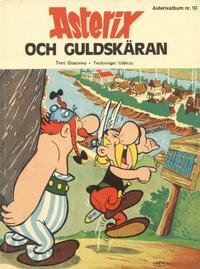 Cover Thumbnail for Asterix (Hemmets Journal, 1970 series) #10 - Asterix och guldskäran