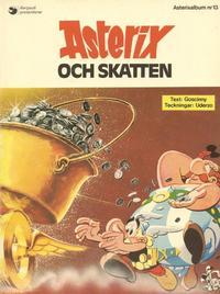 Cover Thumbnail for Asterix (Hemmets Journal, 1970 series) #13 - Asterix och skatten