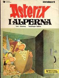 Cover Thumbnail for Asterix (Hemmets Journal, 1970 series) #16 - Asterix i Alperna