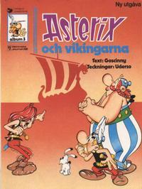 Cover Thumbnail for Asterix (Ny utgåva) (Hemmets Journal, 1979 series) #3 - Asterix och vikingarna