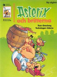 Cover Thumbnail for Asterix (Ny utgåva) (Hemmets Journal, 1979 series) #5 - Asterix och britterna
