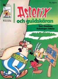 Cover Thumbnail for Asterix (Ny utgåva) (Hemmets Journal, 1979 series) #10 - Asterix och guldskäran