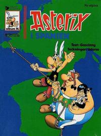 Cover Thumbnail for Asterix (Ny utgåva) (Hemmets Journal, 1979 series) #14 - Asterix i Spanien