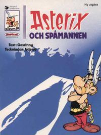 Cover Thumbnail for Asterix (Ny utgåva) (Serieförlaget [1980-talet]; Hemmets Journal, 1986 series) #19 - Asterix och spåmannen