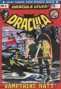 Cover Thumbnail for Dracula (Svenska serier, 1972 series) #1/[1972]