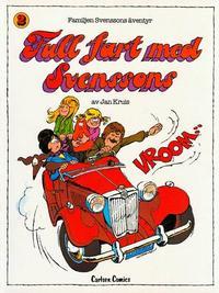 Cover Thumbnail for Familjen Svenssons äventyr (Carlsen/if [SE], 1980 series) #2 - Full fart med Svenssons