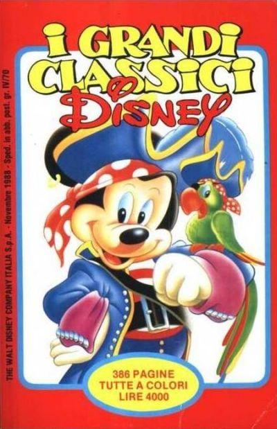 Cover for I Grandi Classici Disney (The Walt Disney Company Italia, 1988 series) #36