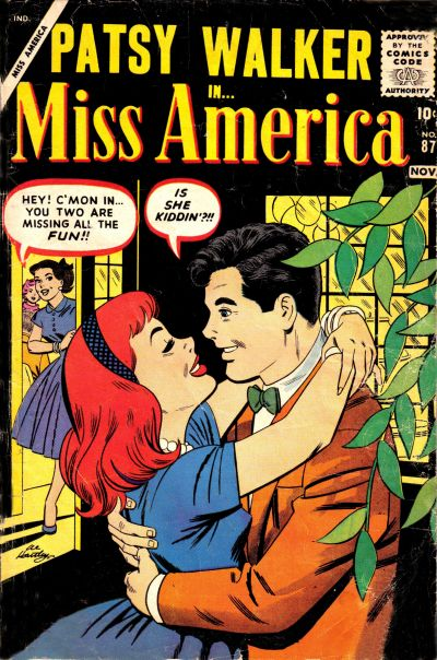 Cover for Miss America (Marvel, 1953 series) #87