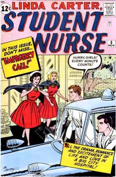 Cover for Linda Carter, Student Nurse (Marvel, 1961 series) #8