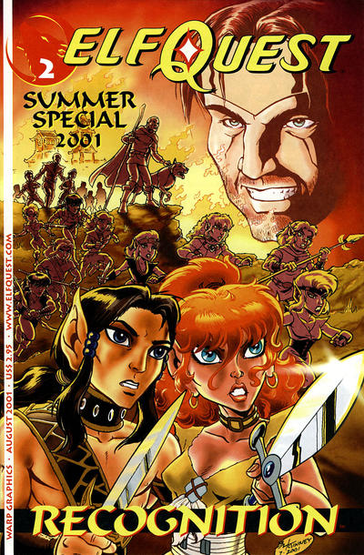 Cover for ElfQuest: Summer 2001 Special (WaRP Graphics, 2001 series) #2