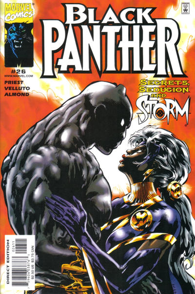 Cover for Black Panther (Marvel, 1998 series) #26
