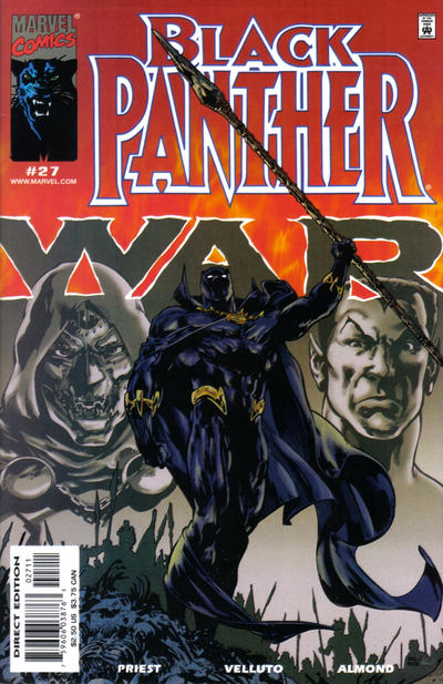 Cover for Black Panther (Marvel, 1998 series) #27