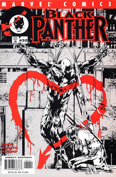 Cover for Black Panther (Marvel, 1998 series) #32