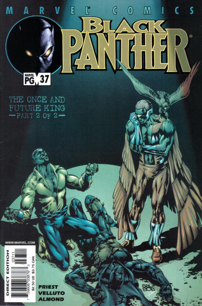 Cover for Black Panther (Marvel, 1998 series) #37