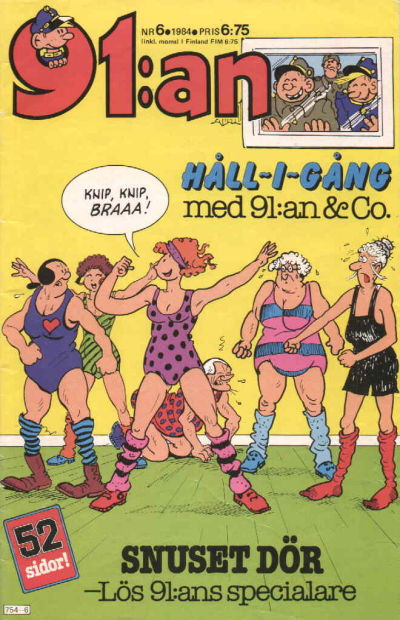 Cover for 91:an (Semic, 1965 ? series) #6/1984