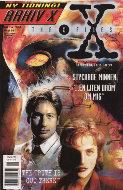 Cover for Arkiv X (Semic, 1996 series) #1/1996