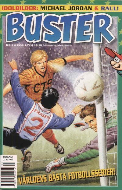 Cover for Buster (Egmont, 1997 series) #2/1998