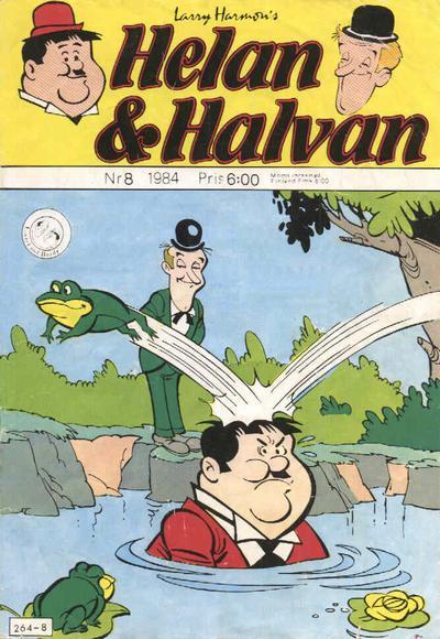 Cover for Helan och Halvan (Atlantic Förlags AB, 1978 series) #8/1984