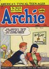 Cover for Archie Comics (Bell Features, 1948 series) #34