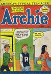 Cover for Archie Comics (Bell Features, 1948 series) #37