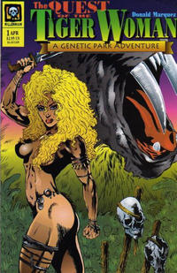 Cover Thumbnail for The Tiger Woman (Millennium Publications, 1994 series) #2 (1)