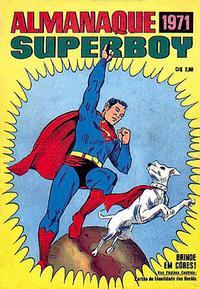 Cover Thumbnail for Almanaque de Superboy (Editora Brasil-América [EBAL], 1967 series) #[1971]