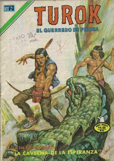 Cover for Turok (Editorial Novaro, 1969 series) #168