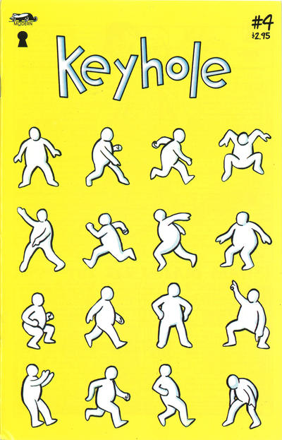 Cover for Keyhole (Millennium Publications, 1996 series) #4