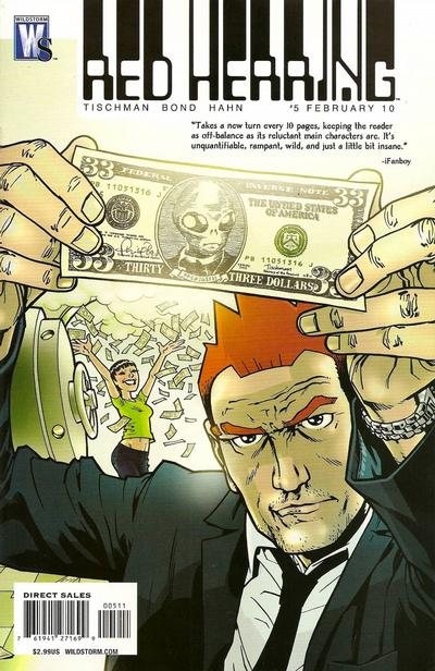 Cover for Red Herring (DC, 2009 series) #5