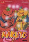 Cover for Naruto (Ediciones Glénat, 2002 series) #44