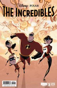 Cover Thumbnail for Incredibles: City of Incredibles (Boom! Studios, 2009 series) #2