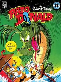"Cover Thumbnail for Álbum Disney (Editora Abril, 1990 series) #1 - Pato Donald em ""O Terror do Rio"""