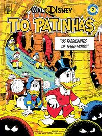 Cover Thumbnail for Álbum Disney (Editora Abril, 1990 series) #2 - Tio Patinhas: Os Fabricantes de Terremotos